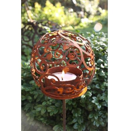 Värmeljushållare blomklot mini ELDgarden