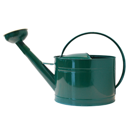 Vattenkanna GardenMind oval m stril 10 liter mörkgrön