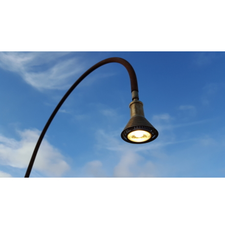 Trädgårdsbelysning 12 V LED Rost Two Faces