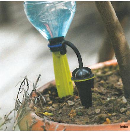 Droppbevattning ställbar