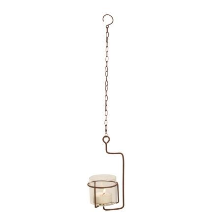 Värmeljushållare Glas hängande ELDgarden